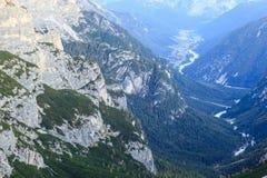 Dolomites valley Stock Photos