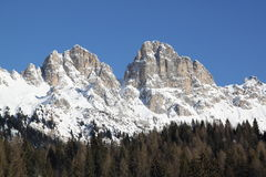 View of  Dolomiti Stock Photos