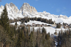 View of  Dolomiti Royalty Free Stock Images