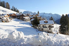 View of  Dolomiti Stock Image