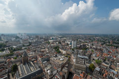 View from the Dom church Utrecht Stock Image
