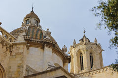 View of the dome of the Cathedral of Tarragona Royalty Free Stock Image