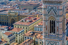 View from the Dome - Florence Royalty Free Stock Images