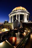 View from The Dome at Lebua's Sky Bar, Bangkok Thailand Royalty Free Stock Images