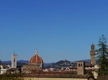 The duome of Florence in Italy Royalty Free Stock Photos