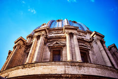 View of the dome of St. Peter Basilica at the Vatican Royalty Free Stock Images