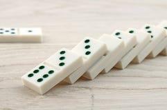 View of domino Stock Photo