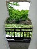 View through a door Stock Photos