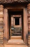 View through door entrance Stock Photos