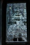 View through door entrance to a statue of bayon Royalty Free Stock Photography