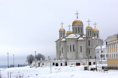 View of the Dormition Cathedral Stock Photo