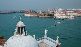 View on Dorsoduro, Venice Royalty Free Stock Photos