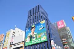 View On Dotonbori Osaka Japan 2016.  Stock Image
