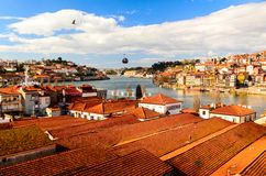 View of Douro river Royalty Free Stock Images