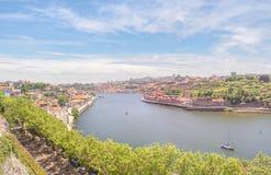 View of the Douro River. Porto, Portugal royalty free stock photos