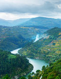 View of Douro river, Portugal Royalty Free Stock Image