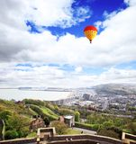 View from Dover castle England Stock Photo