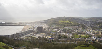 View of Dover, England. Royalty Free Stock Photo
