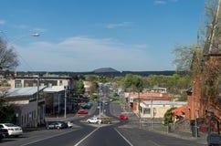 View down Dana Street, Ballarat Royalty Free Stock Photography