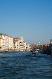 View down the Grand Canal, Venice Royalty Free Stock Photography