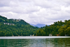 View Down the Lake Royalty Free Stock Photography