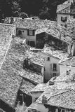 View down over terracotta rooftops Stock Photography