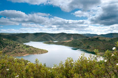 River in the montains Algarve Royalty Free Stock Images