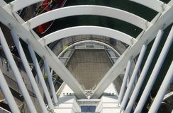 View down from Spinnaker Tower. UK Stock Photography