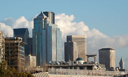 View of Downtown Royalty Free Stock Images