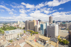 View of downtown Adelaide in the daytime stock photo