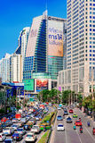 View of downtown Asoke high rise buildings Stock Photography