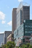 View of downtown Baltimore in Maryland royalty free stock image