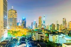View of Downtown Bangkok Stock Image