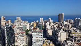 View of downtown Beirut. Beirut, Lebanon royalty free stock photos