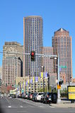 View of downtown Boston in Massachusetts Stock Photos