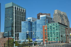 View of downtown Boston in Massachusetts Royalty Free Stock Photo