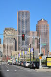 View of downtown Boston in Massachusetts Royalty Free Stock Photography