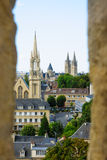 View of downtown Caen Royalty Free Stock Image
