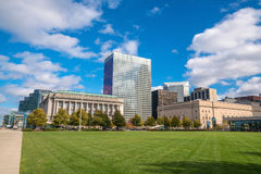 View of downtown Cleveland Royalty Free Stock Image