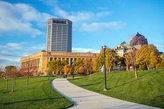 View of downtown Columbus Ohio skyline Royalty Free Stock Image