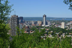 View of Hamilton. royalty free stock image