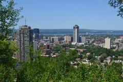 View of Hamilton. Royalty Free Stock Image