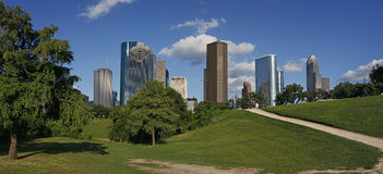 View on downtown houston Stock Images