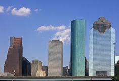 View on Downtown Houston Royalty Free Stock Image