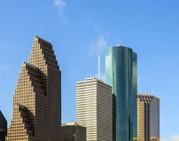 View on downtown Houston. With skyscraper Royalty Free Stock Image