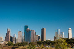 A view of downtown Houston Stock Images