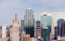 A view of downtown Kansas City. Royalty Free Stock Photos