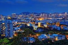 View of Downtown Kowloon Hongkong Stock Photo