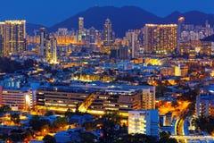 View of Downtown Kowloon Hongkong Royalty Free Stock Images