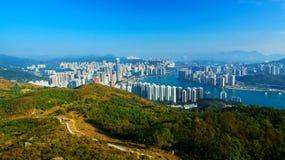 View of Downtown Kowloon Hongkong Royalty Free Stock Photography